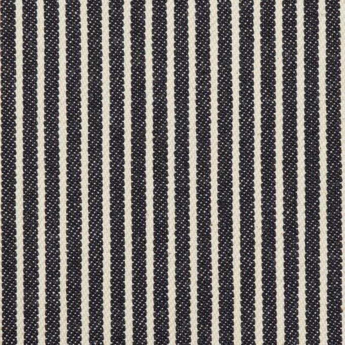 コットン×ストライプ(インディゴ&キナリ)×デニムヒッコリー(10.5oz) イメージ1