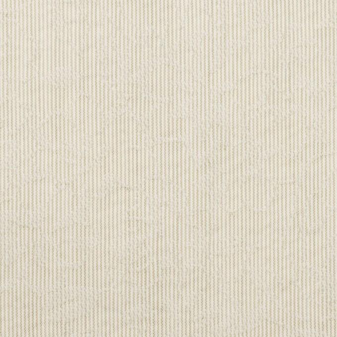 ポリエステル×フラワー(カーキベージュ)×ジャガード イメージ1