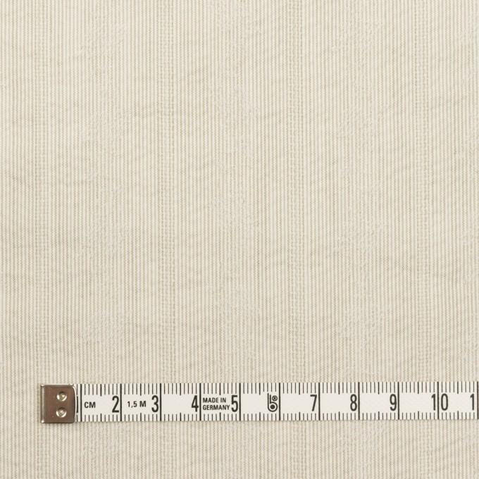 ポリエステル×ストライプ(カーキベージュ)×ジャガード_全3色 イメージ4