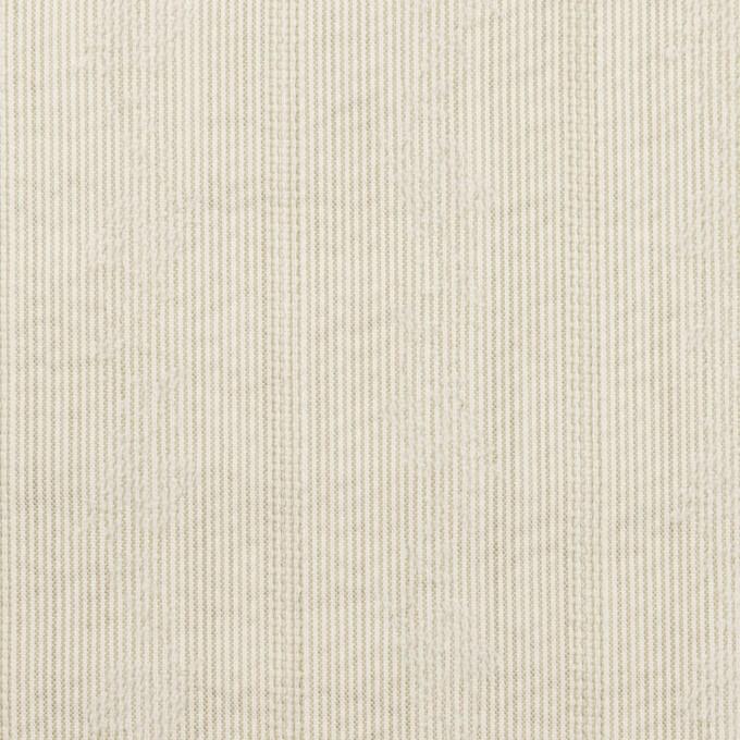 ポリエステル×ストライプ(カーキベージュ)×ジャガード_全3色 イメージ1