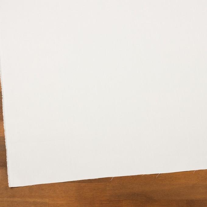コットン&ポリエステル×無地(オフホワイト)×斜子織 イメージ2