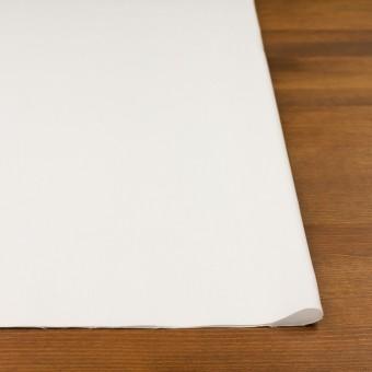 コットン&ポリエステル×無地(オフホワイト)×斜子織 サムネイル3