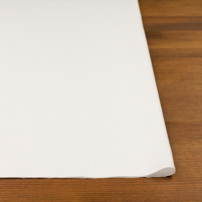 コットン&ポリエステル×無地(オフホワイト)×斜子織 イメージ3