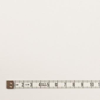 コットン&ポリエステル×無地(オフホワイト)×斜子織 サムネイル4