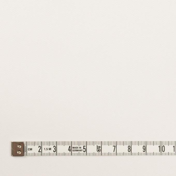 コットン&ポリエステル×無地(オフホワイト)×斜子織 イメージ4