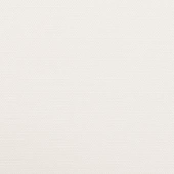 コットン&ポリエステル×無地(オフホワイト)×斜子織