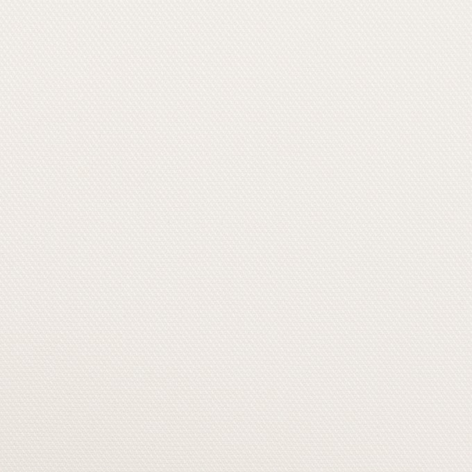 コットン&ポリエステル×無地(オフホワイト)×斜子織 イメージ1