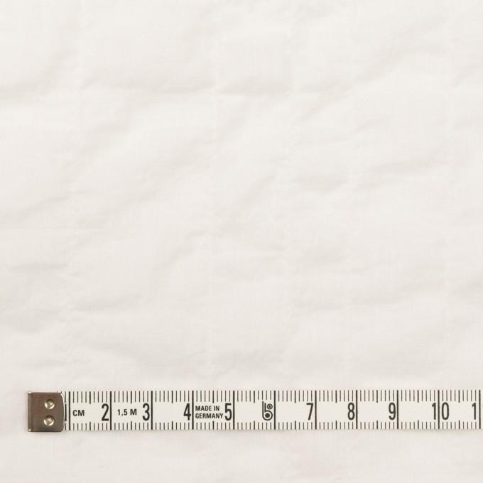 コットン&テンセル混×無地(ホワイト)×ボイルシャーリング イメージ4