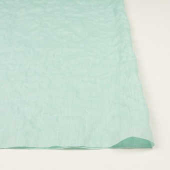 コットン&テンセル混×無地(シャーベットグリーン)×シャンブレー・シャーリング_全2色 サムネイル3