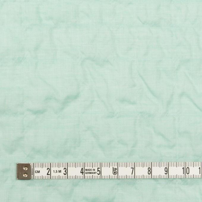 コットン&テンセル混×無地(シャーベットグリーン)×シャンブレー・シャーリング_全2色 イメージ4