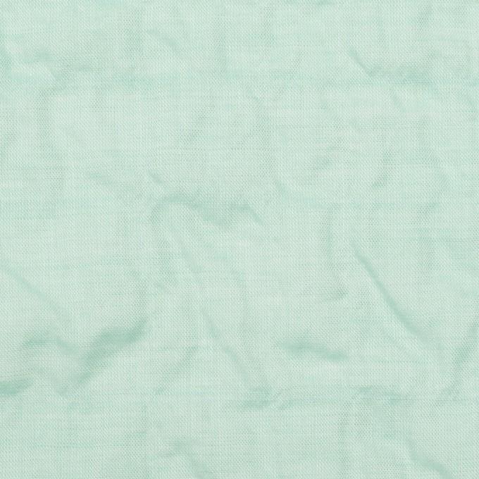 コットン&テンセル混×無地(シャーベットグリーン)×シャンブレー・シャーリング_全2色 イメージ1
