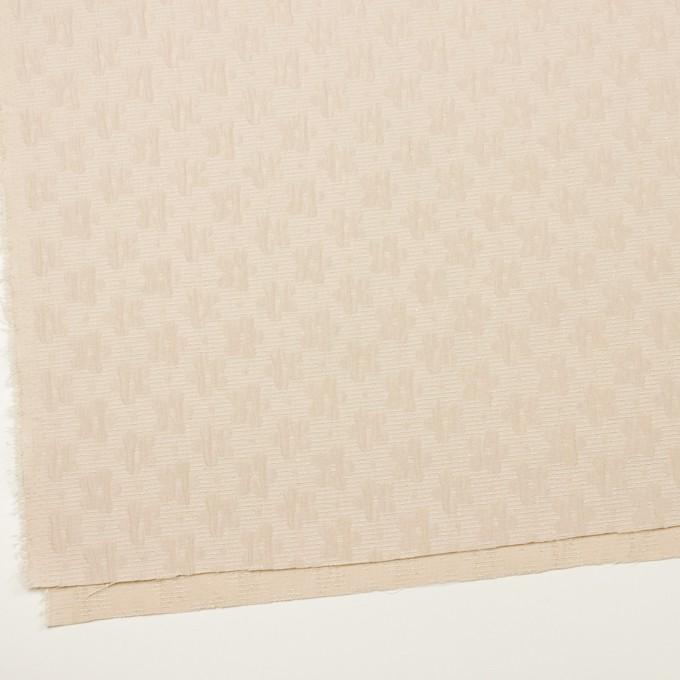 ポリエステル&レーヨン×フラワー(シャンパンゴールド)×フクレジャガード イメージ2