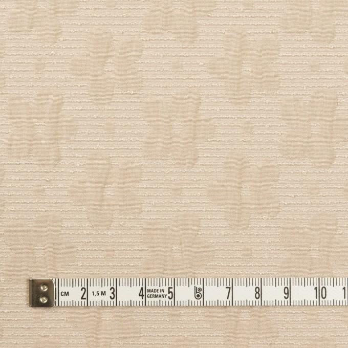 ポリエステル&レーヨン×フラワー(シャンパンゴールド)×フクレジャガード イメージ4