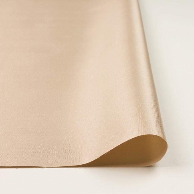 シルク&コットン×無地(シャンパンゴールド)×二重織 イメージ3