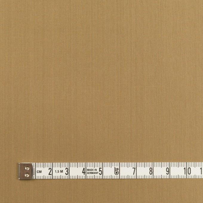シルク&ナイロン×無地(ブラス)×シャンブレー・タフタ イメージ4