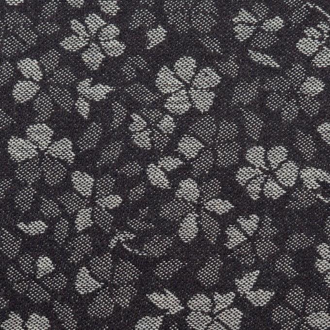 コットン×フラワー(インディゴ)×デニムジャガード(7.5oz) イメージ1