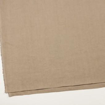 リネン×無地(スモーキーベージュ)×厚オックスフォード_全6色 サムネイル2