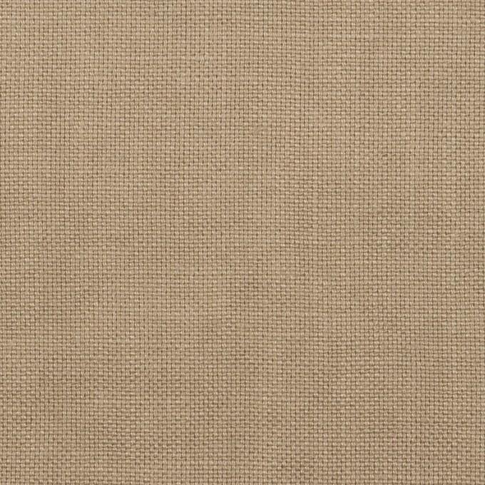 リネン×無地(スモーキーベージュ)×厚オックスフォード_全6色 イメージ1
