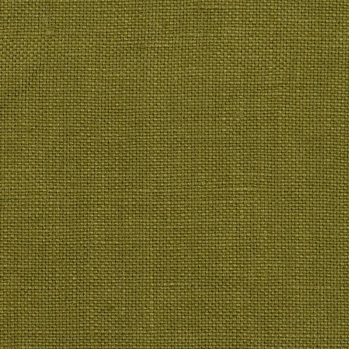 リネン×無地(カーキグリーン)×厚オックスフォード_全6色 イメージ1