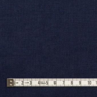 リネン×無地(ネイビー)×厚オックスフォード_全6色 サムネイル4