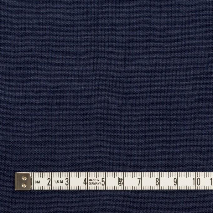 リネン×無地(ネイビー)×厚オックスフォード_全6色 イメージ4