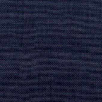 リネン×無地(ネイビー)×厚オックスフォード_全6色