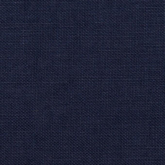 リネン×無地(ネイビー)×厚オックスフォード_全6色 イメージ1