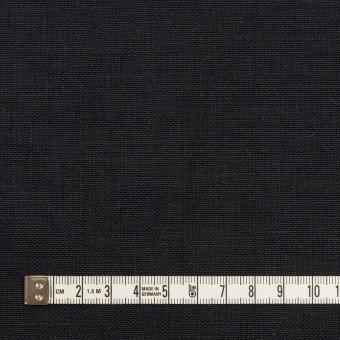 リネン×無地(ダークネイビー)×厚オックスフォード_全6色 サムネイル4