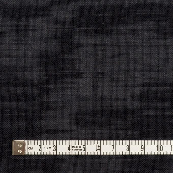 リネン×無地(ダークネイビー)×厚オックスフォード_全6色 イメージ4