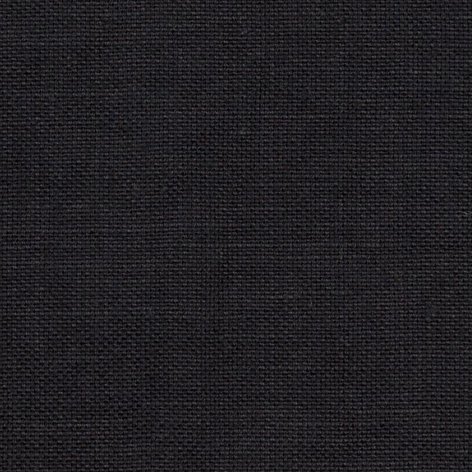 リネン×無地(ダークネイビー)×厚オックスフォード_全6色 イメージ1
