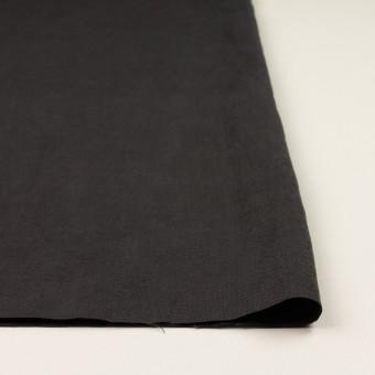 リネン×無地(チャコール)×厚オックスフォード_全6色 サムネイル3