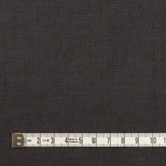 リネン×無地(チャコール)×厚オックスフォード_全6色 サムネイル4