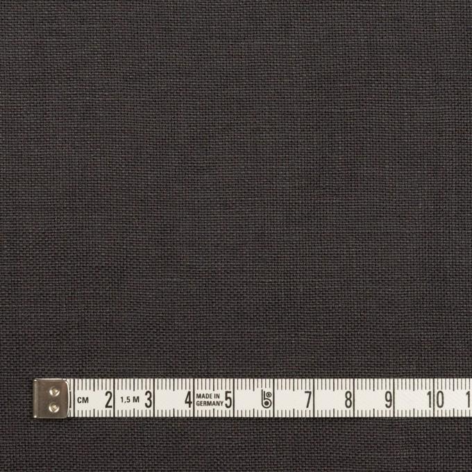 リネン×無地(チャコール)×厚オックスフォード_全6色 イメージ4