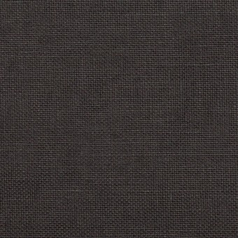 リネン×無地(チャコール)×厚オックスフォード_全6色