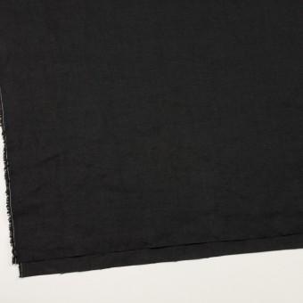 リネン×無地(ブラック)×厚オックスフォード_全6色 サムネイル2