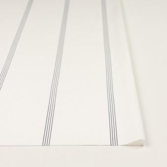 コットン&テンセル×ストライプ(オフホワイト&ネイビー)×ブロード サムネイル3