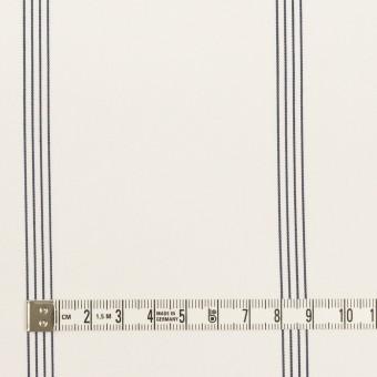 コットン&テンセル×ストライプ(オフホワイト&ネイビー)×ブロード サムネイル4