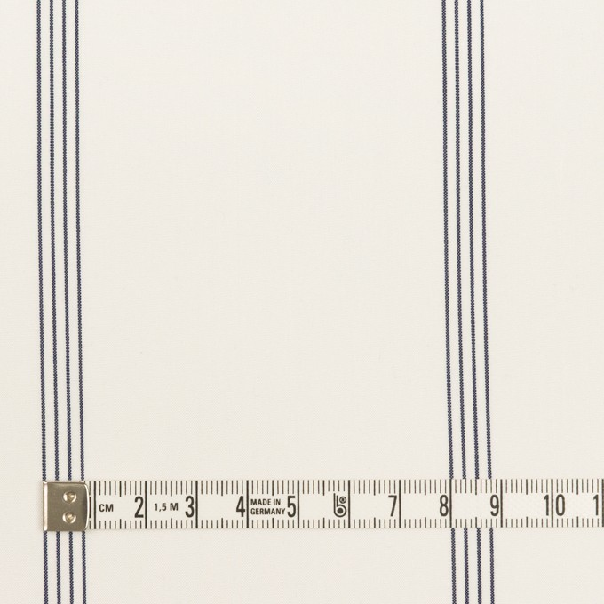 コットン&テンセル×ストライプ(オフホワイト&ネイビー)×ブロード イメージ4