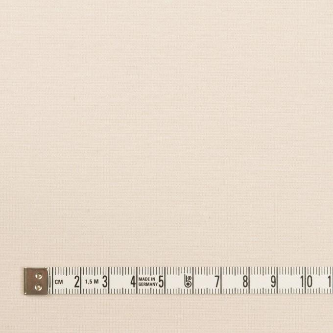 コットン&モダール×無地(バニラ)×Wニット イメージ4