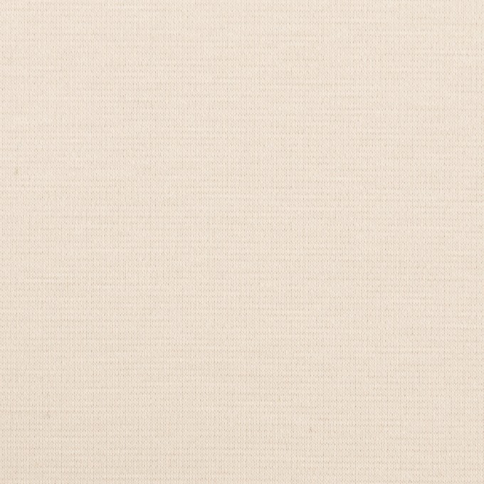 コットン&モダール×無地(バニラ)×Wニット イメージ1