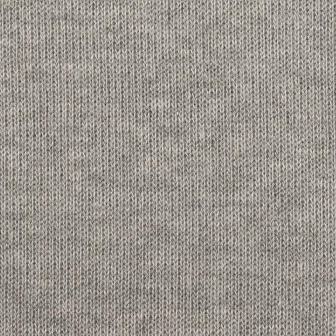 コットン×無地(グレー)×Wニット イメージ1