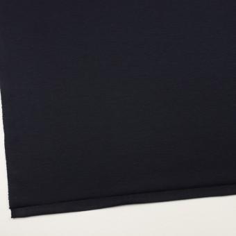 リヨセル&ナイロン混×無地(ダークネイビー)×Wニット サムネイル2