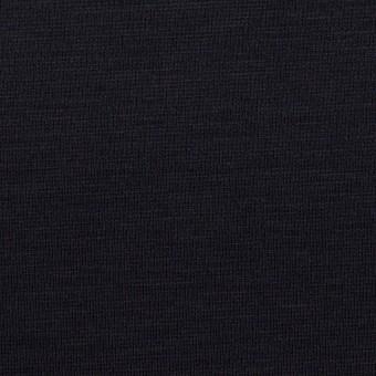 リヨセル&ナイロン混×無地(ダークネイビー)×Wニット サムネイル1