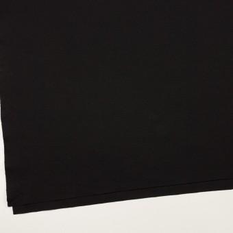リヨセル&ナイロン混×無地(ブラック)×Wニット サムネイル2