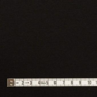 リヨセル&ナイロン混×無地(ブラック)×Wニット サムネイル4