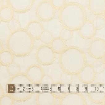 コットン×サークル(エクリュ&ホワイト)×ローン刺繍_全4色 サムネイル4