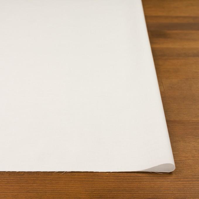 コットン&ポリウレタン×無地(ホワイト)×ローンストレッチ_全4色 イメージ3