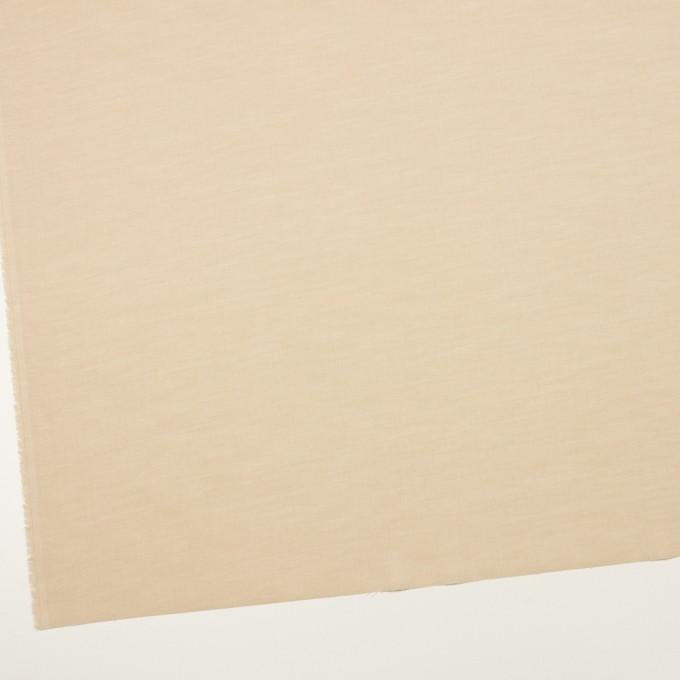 コットン&ポリウレタン×無地(ライトベージュ)×ローンストレッチ_全4色 イメージ2