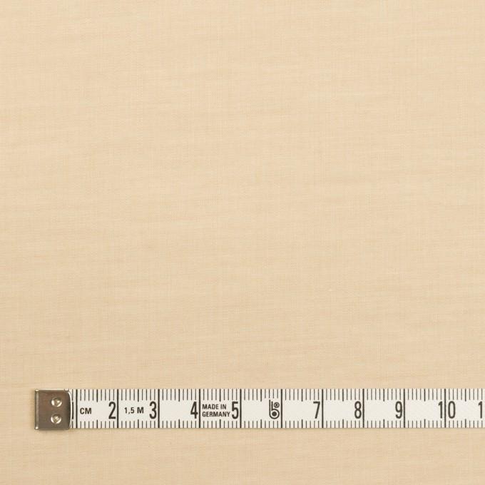 コットン&ポリウレタン×無地(ライトベージュ)×ローンストレッチ_全4色 イメージ4
