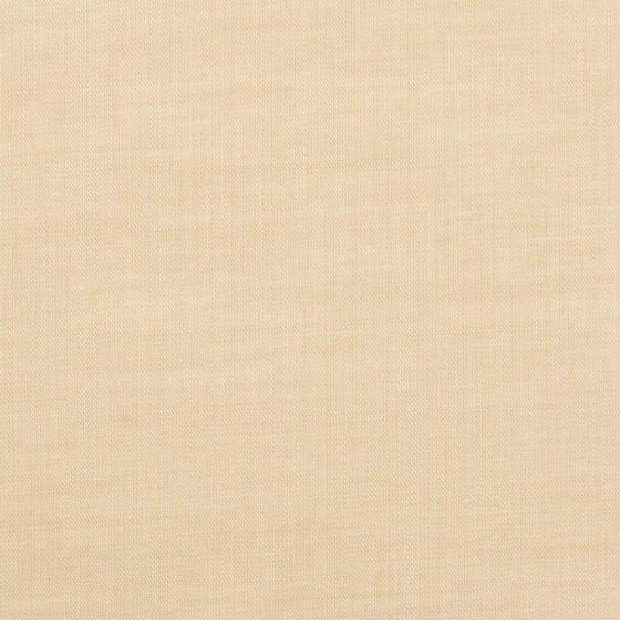 コットン&ポリウレタン×無地(ライトベージュ)×ローンストレッチ_全4色 イメージ1